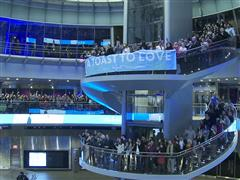 The Knot Toasts to Love with 518 People and Breaks the GUINNESS WORLD RECORD® Record for World's Largest Champagne Tasting