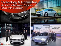 Technology and Automotive: Kia, Audi, Volkswagen Embrace Future with e-Mobility