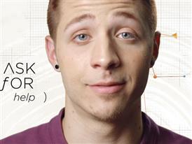 """Trevor Project """"Ask For Help"""" PSA Version 1 (60 Sec)"""
