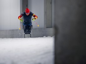 The Road to PyeonChang: Andrea Eskau's New Sled
