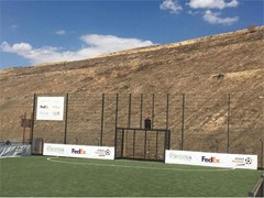 UEFA Foundation for Children and Fedex Return to Cañada Real