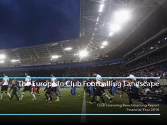 UEFA report shows football's financial upswing