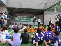 Refugee Life Skills and Employment Training Soccer Programme Atlanta