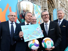 UEFA EURO 2020 Host City Logo Launch – Brussels