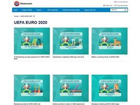 UEFA - Euro 2020 page