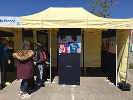 Youth Plaza : UEFA Foundation stand