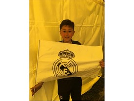 Young Real Madrid fan