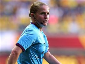 Esther Stäubli during the Women's EURO 2013 semi-final between Sweden and Germany
