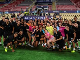 Football in support of diversity at 2017 UEFA Super Cup