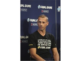 Aleksander Čeferin, UEFA President at the #EqualGame Launch