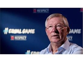 UEFA coaching ambassador Sir Alex Ferguson