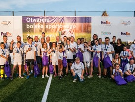 Community Pitch Inauguration in Mragowo, Poland