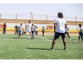 New football pitch at the Za'atari Refugee Camp in Jordan 9