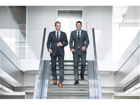 UEFA president Aleksander Čeferin and Luis Figo