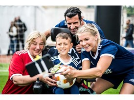 #EqualGame Respect campaign with a special event in Lyon