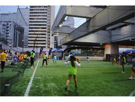 Soccer in the streets