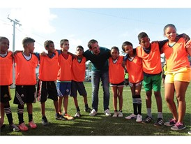 Field in a box™ provides opportunities for young people in brazil