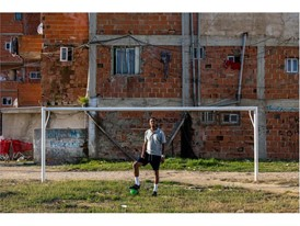Aurio 'Puma' Emerson, from Lisbon, used his passion for street football to give himself a second chance in life.