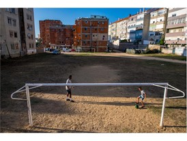 Aurio 'Puma' Emerson, from Lisbon, used his passion for street football to give himself a second chance in life