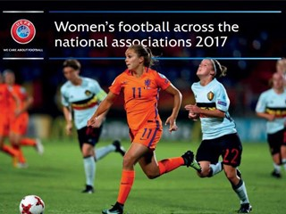 UEFA report: registered female footballers on the rise