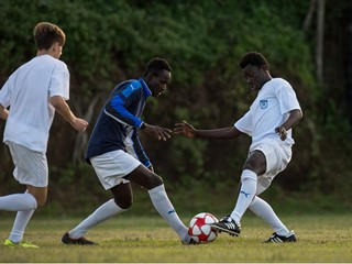 """Football is my life"" – Abubacarr Konta, a young migrant from The Gambia, who is building a new life in Italy"