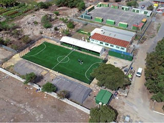 Field in a box opens up new possibilities for young people in Philippi, Cape Town