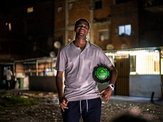A life path for 'Puma' - thanks to football