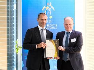 HJK Helsinki awarded grassroots gold