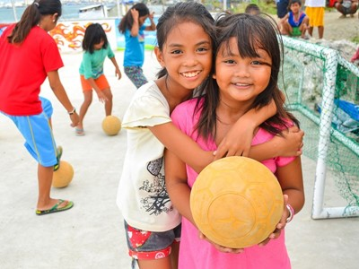 Football for Life Champions Academy in the Philippines