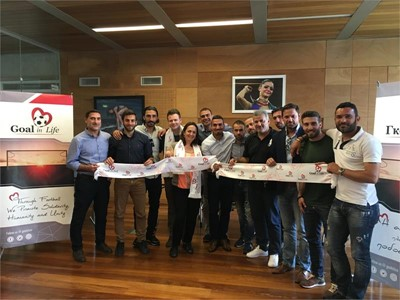 Goal in Life Foundation Kicks Off Unique Education Programme in Cyprus