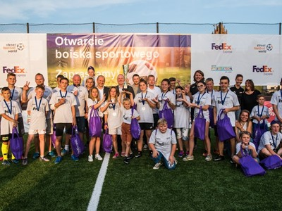 UEFA Foundation Welcomes Continued Collaboration with FedEx in Support of 'Football For Good' Movement