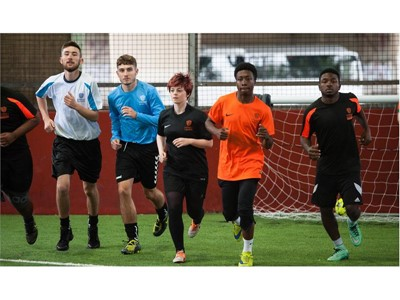 street league sport employment charity Manchester