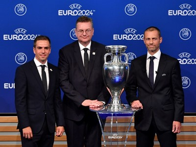 Germany to host UEFA EURO 2024  - The bid ceremony