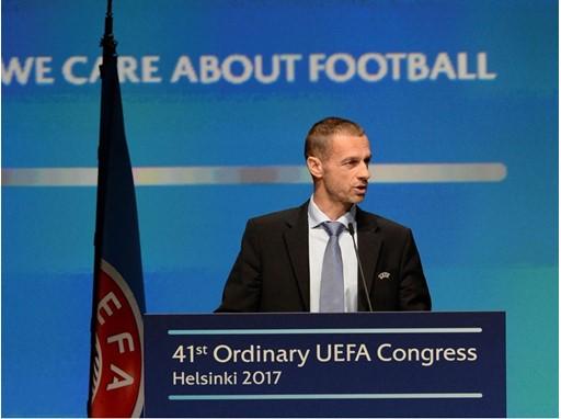 Aleksander Čeferin, UEFA president