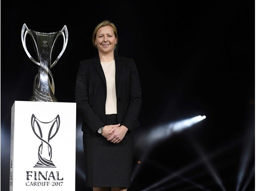Jayne Ludlow on the Women's Champions League final