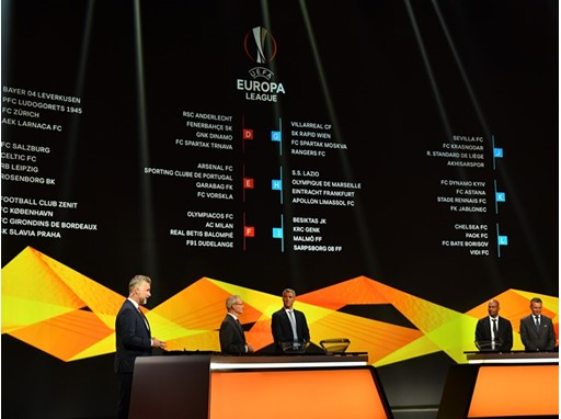 2018/19 UEFA Europa League group stage draw in Monaco
