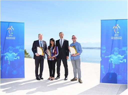 UEFA Grassroots Award Winners