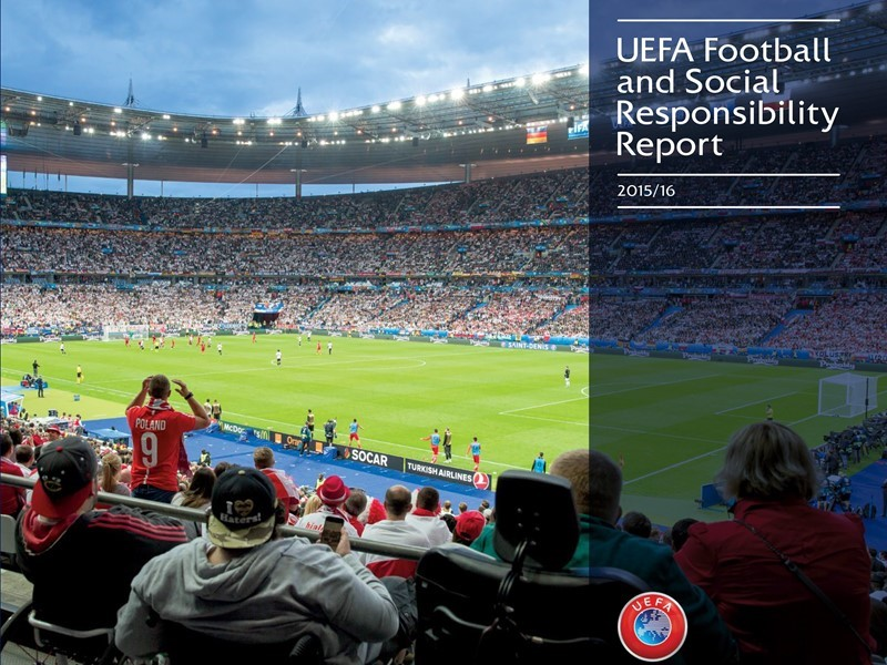 2015/16 Football and Social Responsibility <b>Report</b> Out Now