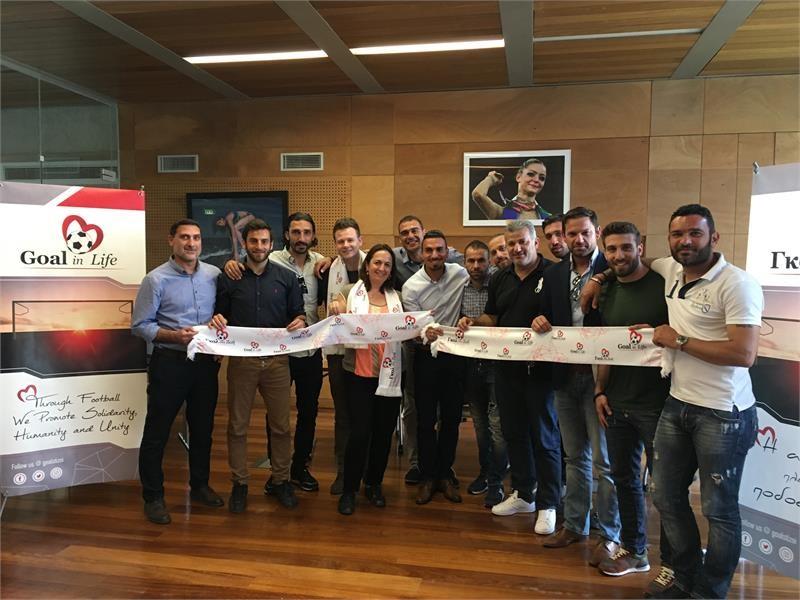 <b>UEFA</b> Newsroom : Goal in Life Foundation Kicks Off Unique ...
