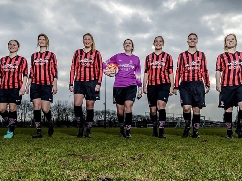 UEFA Newsroom : Dutch women's <b>football</b> aiming high