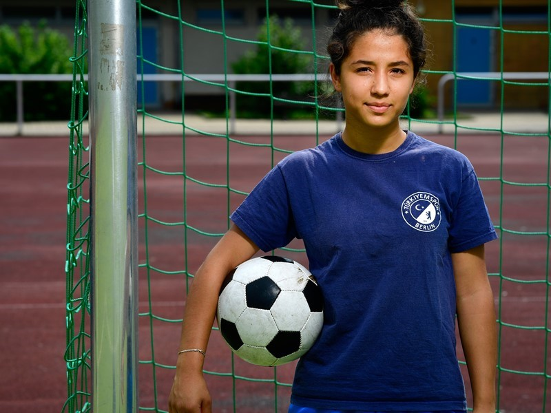 'Everyone should get to play': Berlin footballer <b>Zehra</b> supports ...