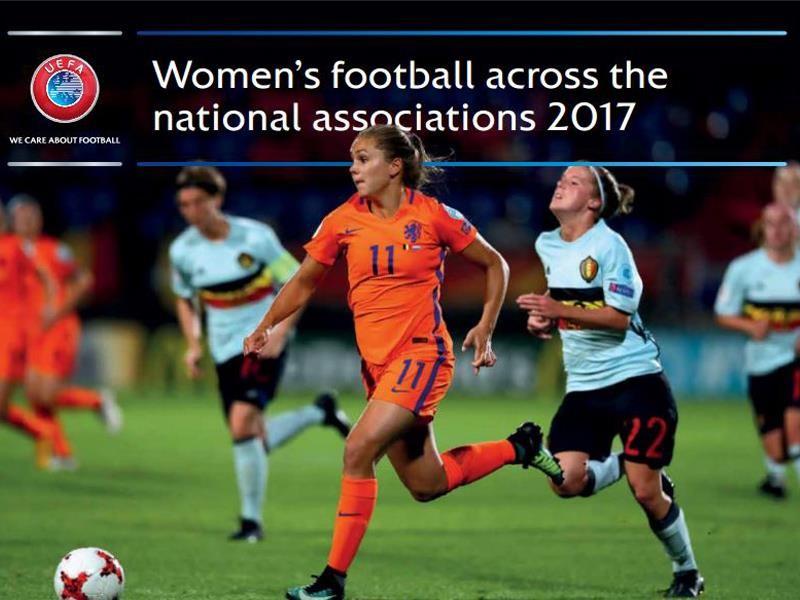 UEFA Newsroom : UEFA report: registered female footballers on the ...