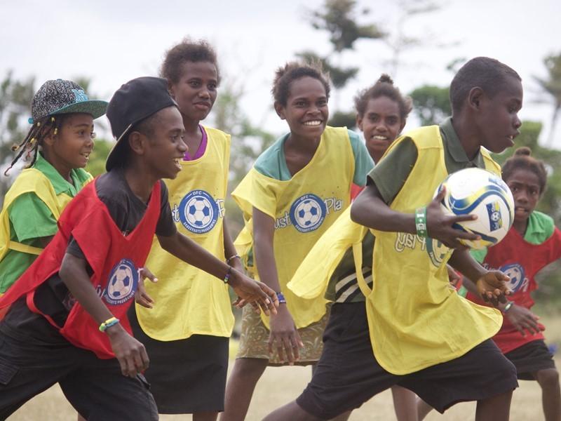 UEFA Newsroom : <b>Just Play</b> emergency <b>programme</b> set up in Vanuatu