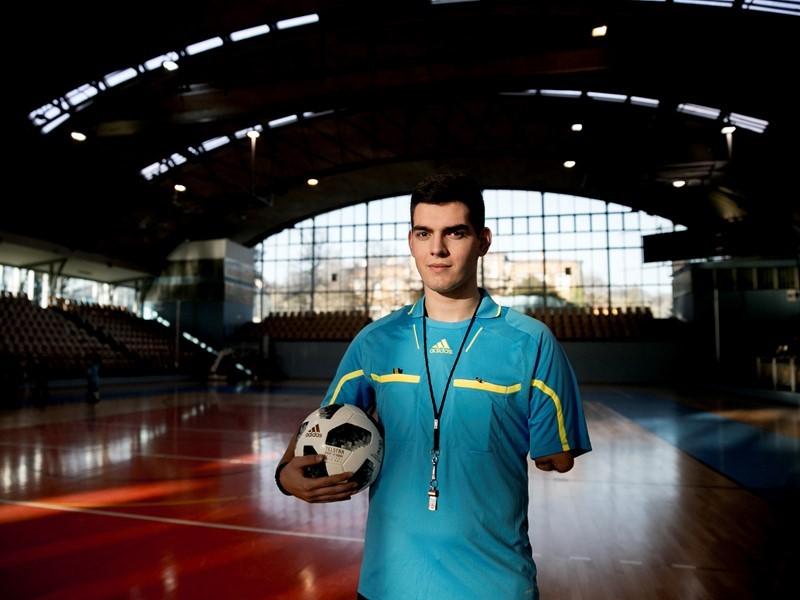 UEFA Newsroom : I Lost my Arm, and I am Still Part of Football