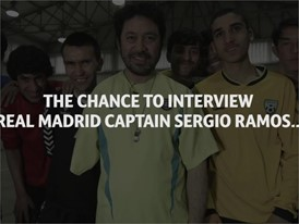 Sergio Ramos answers questions from rehabilitation center in Kabul  - English