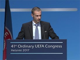 UEFA President Speech at UEFA Congress in Helsinki