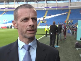 UEFA PRESIDENT WEPLAYSTRONG QUOTE - CLEAN