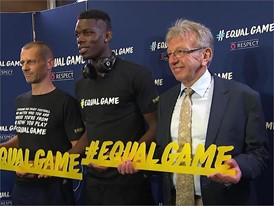 UEFA EQUAL GAME B-roll mute