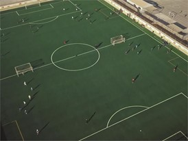 Football's New Home In Za'atari Camp