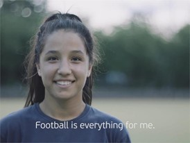 UEFA Equal Game - Zehra Badem Germany - with English subtitles